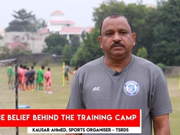 Kausar Ahmed on TSRDS-Jamshedpur FC Training Camp